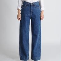 Wide Fit Denim Pants
