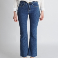 Fitted Boot Cut Jeans