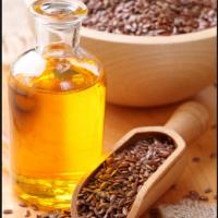 Pure Natural Flax Seed Oil