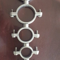 Stainless Steel Pipe Roller Stand Chair Part