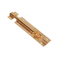 "Brass 3/8"" Tower Bolt  (Heavy)"