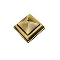 Brass Royal Pyramid Mirror Cap