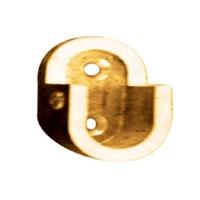 Brass Oval Pipe Bracket