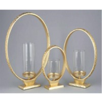 Ring Lantern With Glass