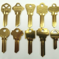 Look Alike Series Brass Key Blank