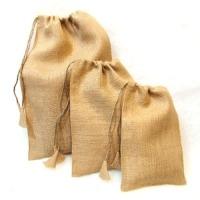 Jute Drawstring Bag