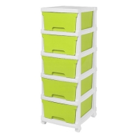 5 Tier Drawer With Wheel