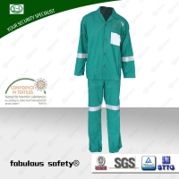 Flame Retardant And Anti Static Coverall