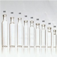 Injection Clear Tubular Glass Vial With Cap