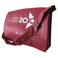 Non-Woven Messenger Bag With Flap