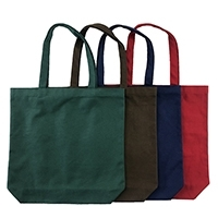 12oz Cotton Tote Bag With Bottom Gusset
