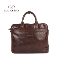 Vintage Full Grain Leather Man Bags