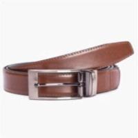 Navy Tan Belt