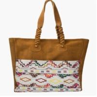 Tan Boho Suede Bags