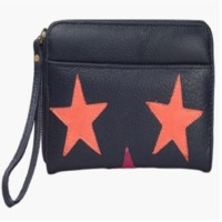 Peach Star Purse