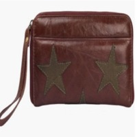 Brown Star Purse