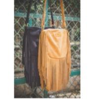 Brown Boho Fringe Crossbody Bags