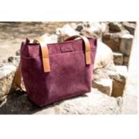 Purple Mini Suede Handbag