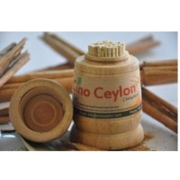 Cinnamon Toothpick 100Nos Wooden Holder