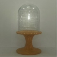 Display Stand With Cloche