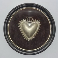 Sacred Heart In Frame