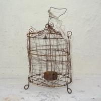 Handmade Wirework Tealight Cage