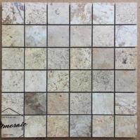 48x48 Chocolate Natural Stone Mosaic