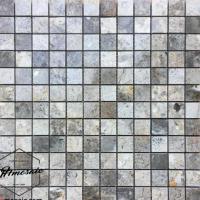 48x48 Grey Natural Stone Mosaic
