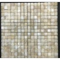 Pompeya Onyx  Natural Stone Mosaic Tile in Beige