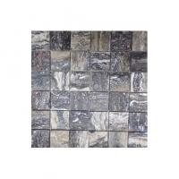 Grey  Honed Travertine Mosaic