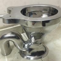 Western Toilet (Stainless Steel)
