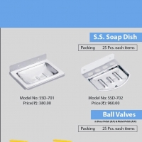 Soap Dish ( Stainless Steel)