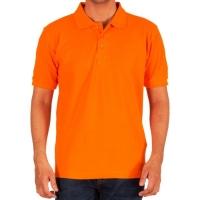 Orange Polo T-Shirt