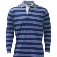 Yarn Dyed Collar Ull Hand T-Shirt