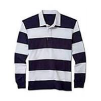 Big Yarn Dyed Polo T Shirt