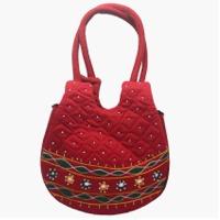 Applique Ladies Hand Bag
