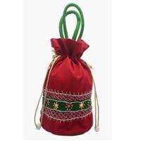 Applique Ladies Round Potli Bag