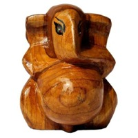 Wood Carving Ganesh