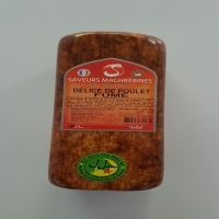 2.5 Kg Block Of Smoked Halal Chicken Ham