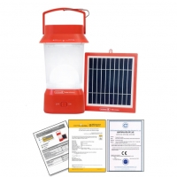 Solar Power Lantern With Phone Charger And Radio