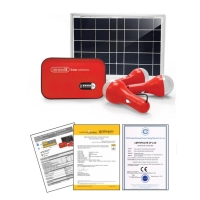 Solar Home Power Station With Radio & Flashlight