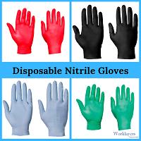 Nitrile Examination Gloves (Blue)