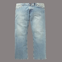 Basic Work Jeans Pants