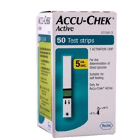 Accu-Chek Active Strips, Pack of 50
