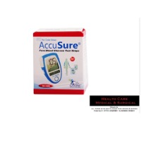 Accusure Test Strips, 50 Strips