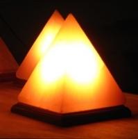 Himalayan Salt Pyramid Lamp