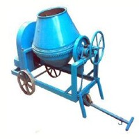 Concrete Mixer (Hand Feed) Tilting Type