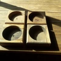 Oak Confectionary Table
