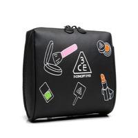 Multiple Colors PVC Leather Custom Toiletry Bag