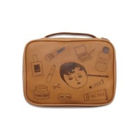 Fashionable Printed Travel Cosmetic Bags
